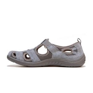 Earth Origins by Earth Camby Gray Suede Sandals